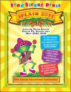 SPLASH! Frog Street Press! Are you going?