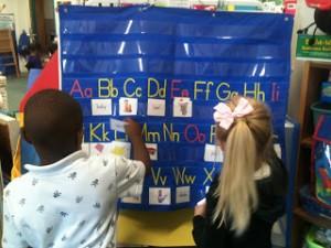 New Literacy Centers!
