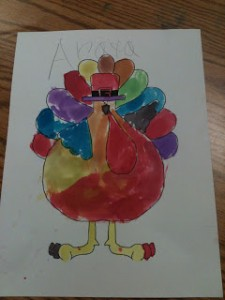 Thanksgiving Literacy Centers!