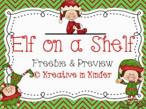 Elf on a Shelf Freebie!