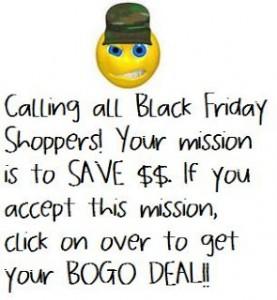 Black Friday BOGO!