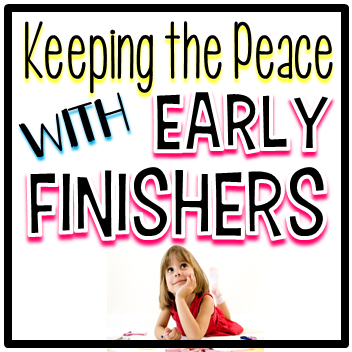 Keeping The Peace With Early Finisher Tubs