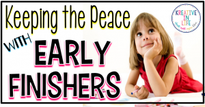 Keeping_The_Peace_With_Early_Finishers