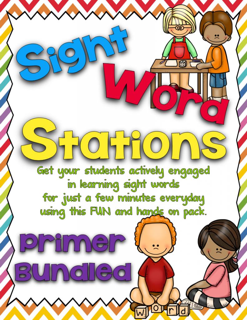 https://www.teacherspayteachers.com/Product/Sight-Word-Stations-PrimerBundled-1214228