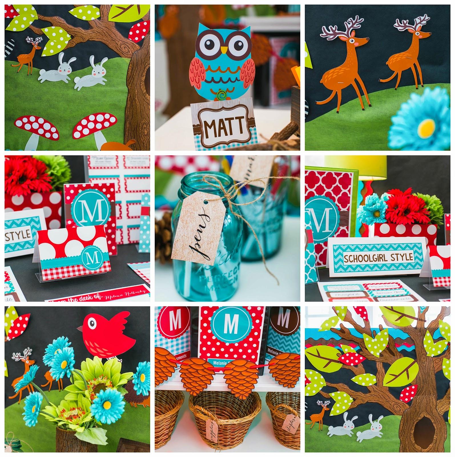 Woodland-Animals-Classroom-Theme-and-Decor-by-Schoolgirl ...