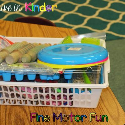 Fine Motor Fun! Part ONE!