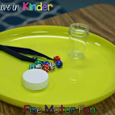 Fine Motor Fun Part TWO!
