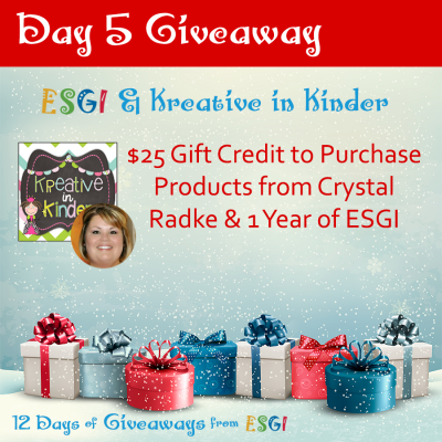 12 Days of Giveaways with ESGI!!