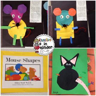 Mouse Shapes, Experiments & Shaving Cream Galore