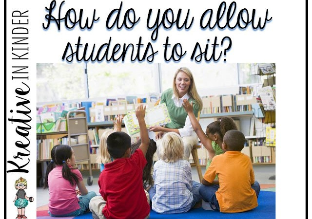 How Do You Allow Your Students To Sit On The Carpet?