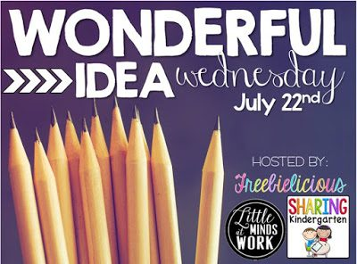 Wonderful Idea Wednesday