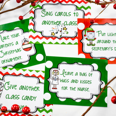 Random Acts of Classroom Kindness this Christmas