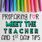 Preparing for Meet the Teacher