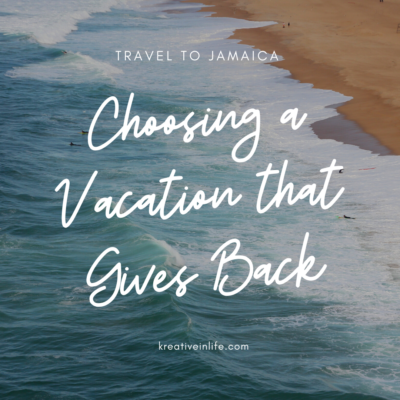 Choose A Vacation That Gives Back And Visit Jamaica