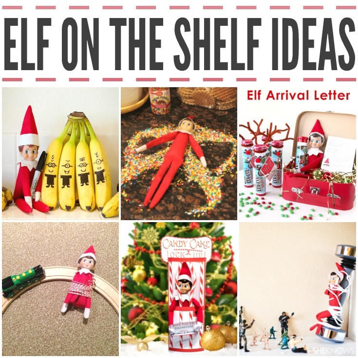 Fun Elf On The Shelf Ideas for Kids