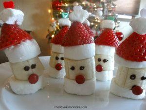 Fruit Santa