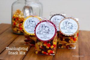 10 Thanksgiving snacks kids will love