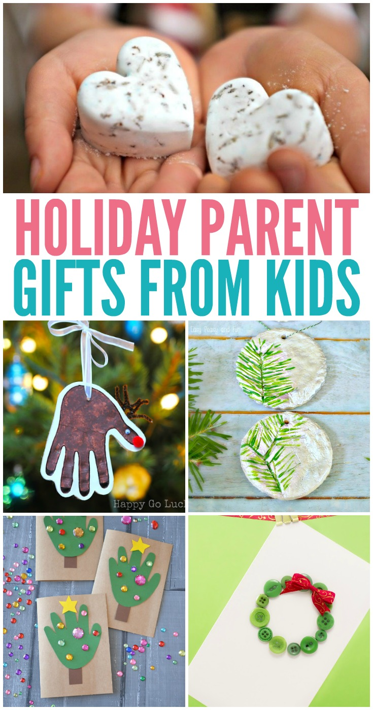 12 Holiday Parent Gifts from Kids
