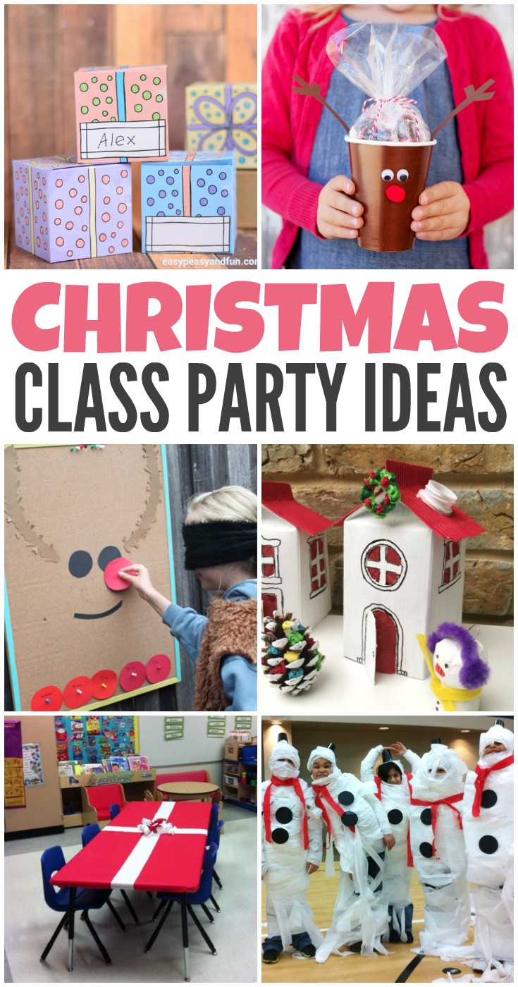 Classroom Event Ideas ~ Christmas class party ideas kreative in life