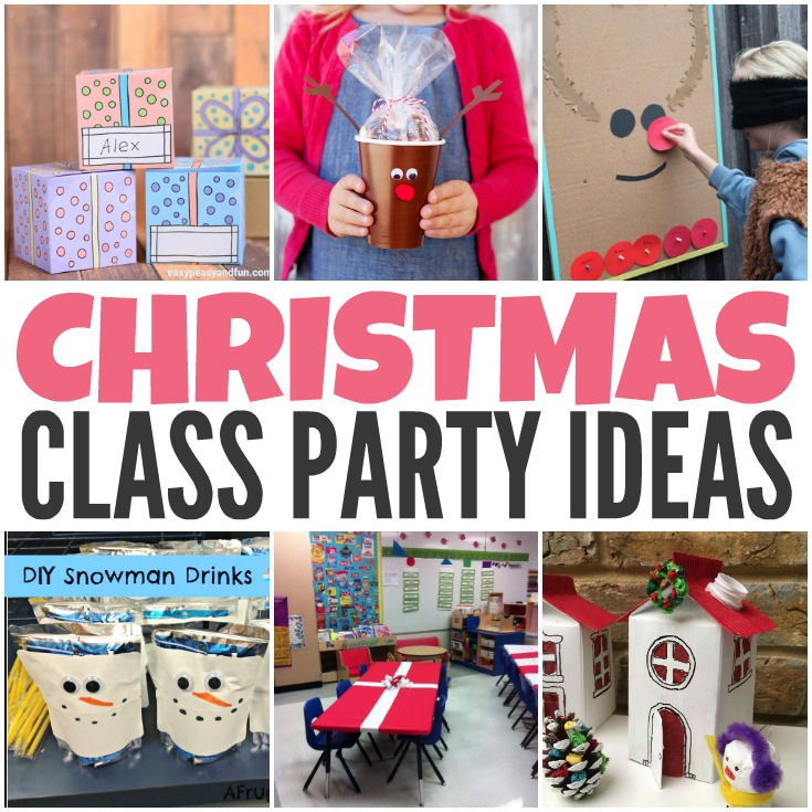 class christmas party ideas
