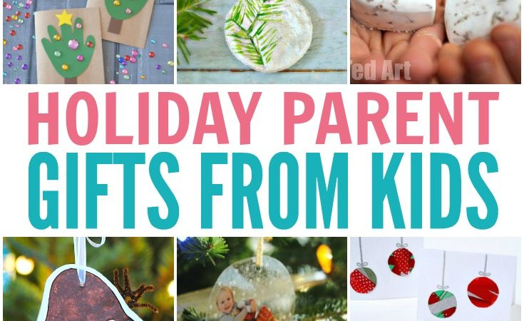 Holiday Parent Gifts from Kids