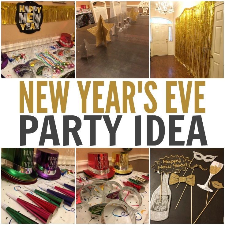 Simple New Year's Eve Party Idea