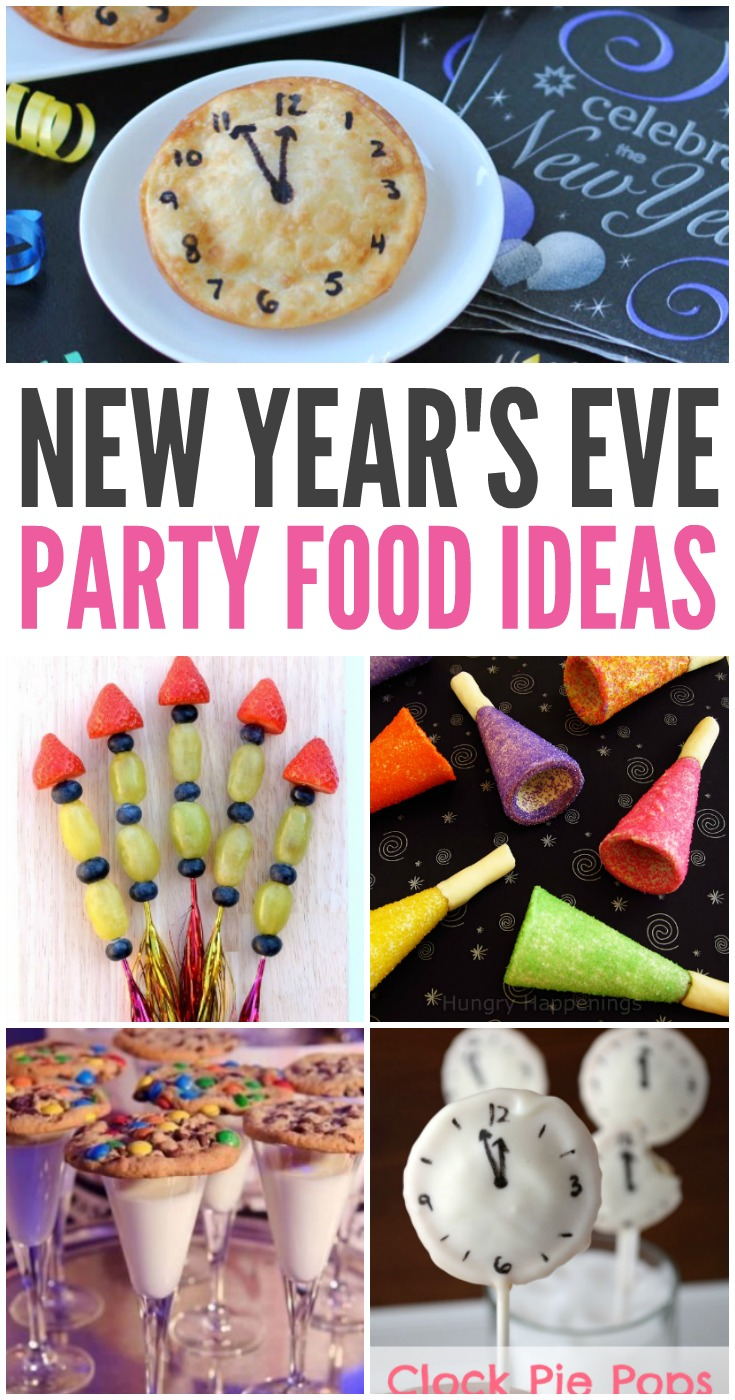 Yummy New Year's Eve Party Food Ideas