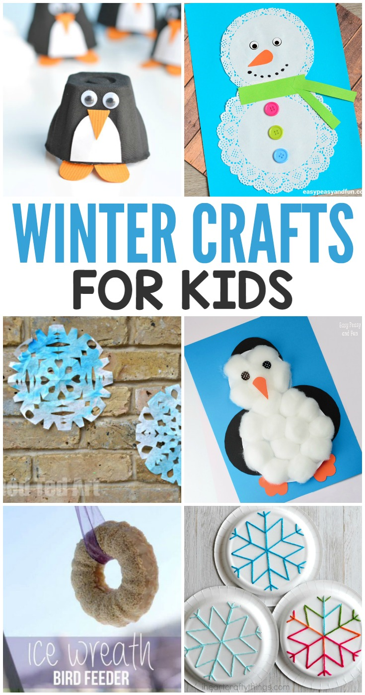 Awesome Winter Crafts For Kids
