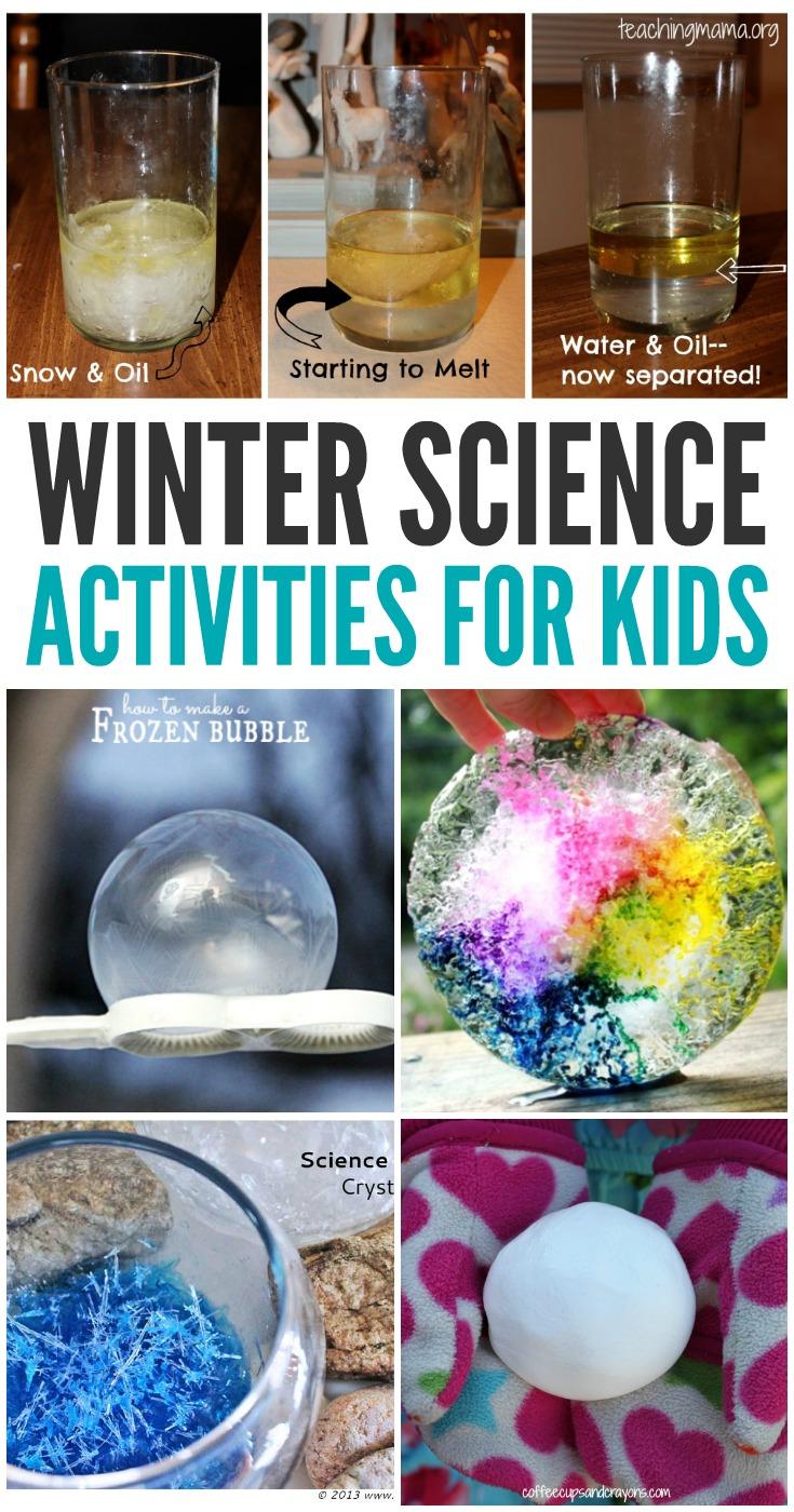 Fun Winter Science Activities for Kids