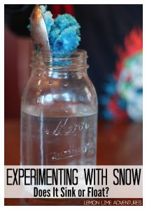 experimenting-with-snow-sinking-or-floating