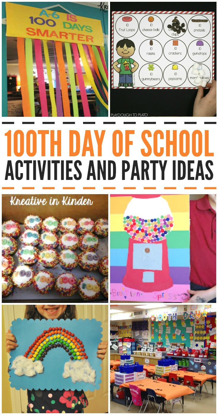 100th Day of School Activities and Party Ideas
