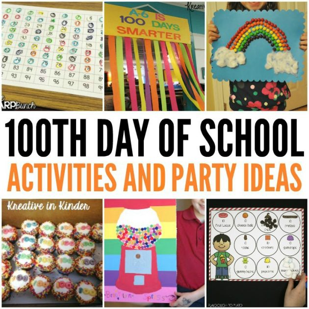 Awesome 100th Day of School Ideas