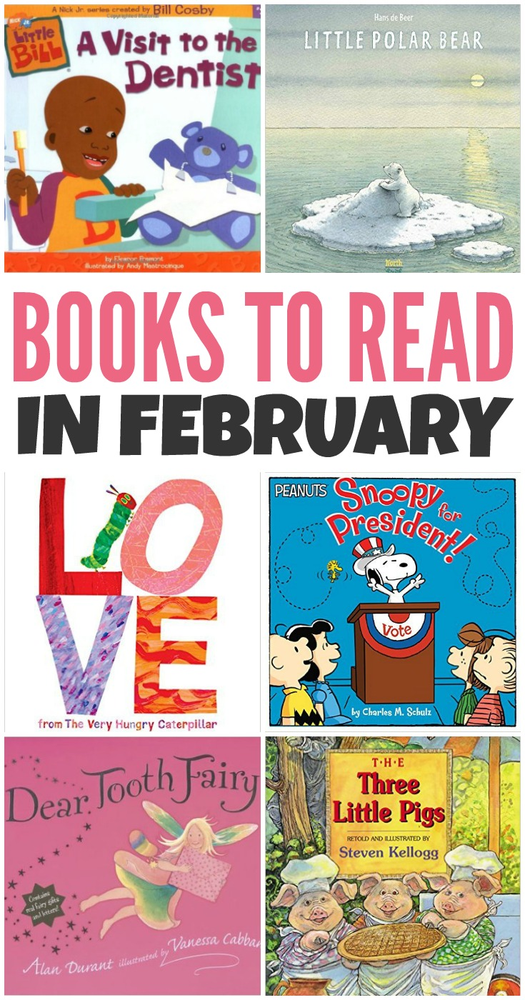 Cool Books to Read in February