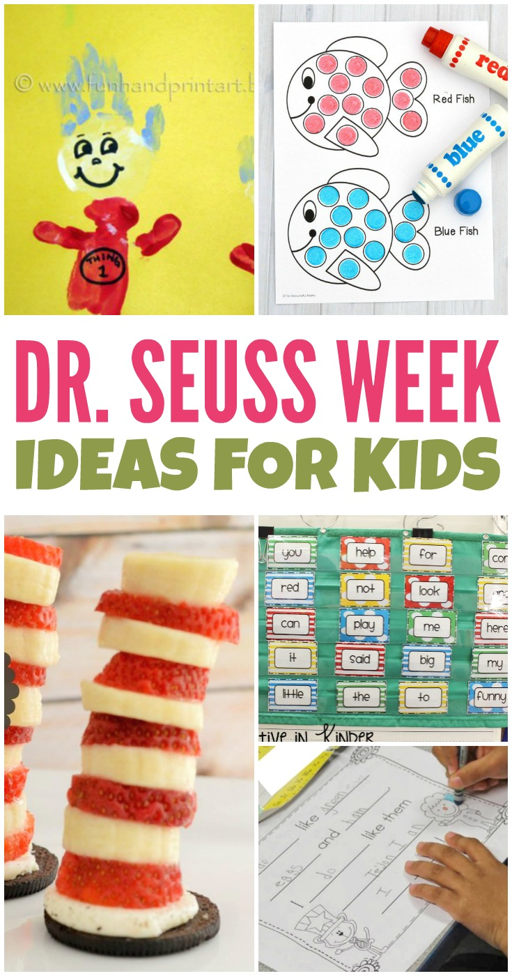 Dr. Seuss Week Fun Ideas for Kids
