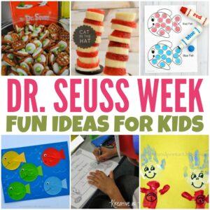 Dr. Seuss Week Ideas for Kids