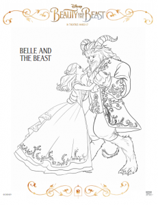 B&B Coloring Page