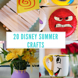 20 Disney Summer Crafts