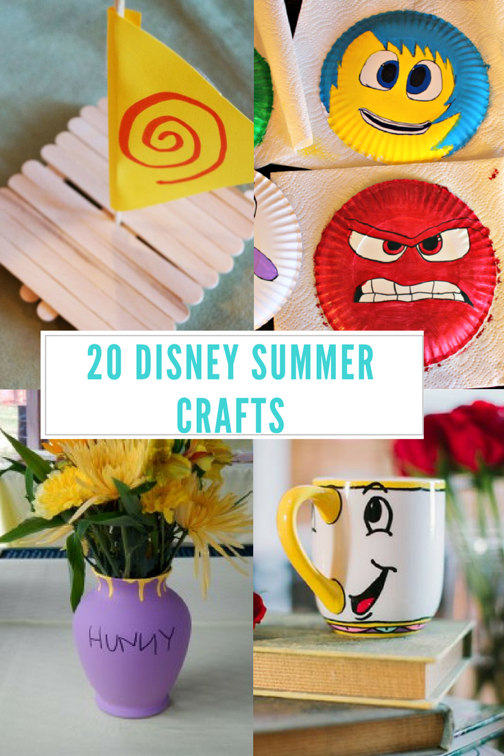 20 Disney Summer Crafts