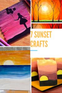 sunset crafts