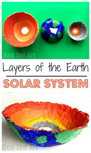Layers of the Earth Bowls