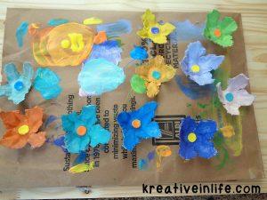 eggcartonsflowers