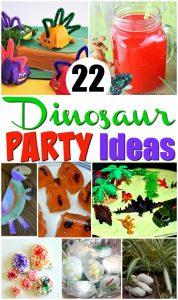 22 Dinosaur Party Ideas