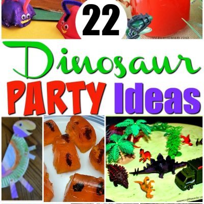 22 Dinosaur Party Ideas
