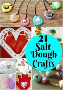 21 Salt Dough Crafts
