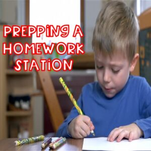 6 Items Every Homework Station Should Have