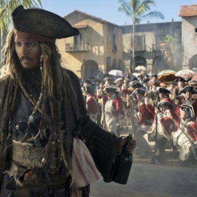 Pirates Of The Caribbean: Dean Man Tell No Tales