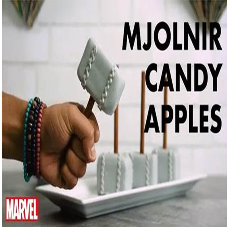 Marvel-ous Candy Apples