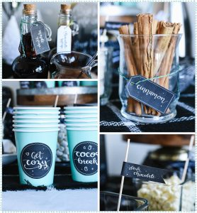 The Life of the Party: Hot Chocolate Bar {With Freebies}