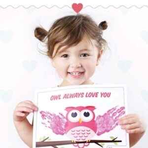 Valentine Hand Print Cards