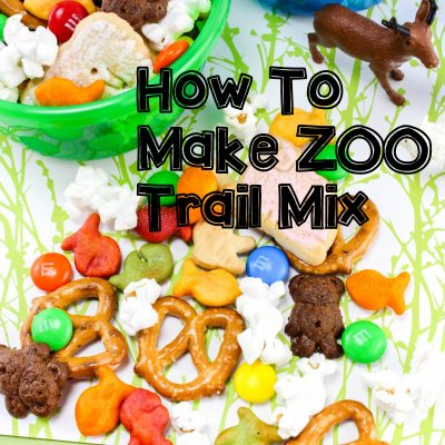 Making Zoo Trail Mix